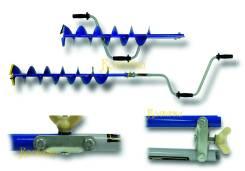 Ледобуры NERO Классические 130мм/150мм/180мм. Под заказ