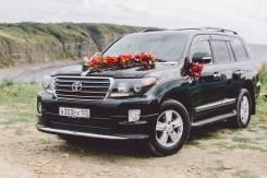 Аренда авто джип Land Cruiser с водителем на свадьбу и деловые встречи