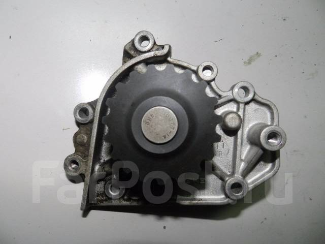 Помпа водяная. Honda: Domani, Ballade, Stepwgn, Civic, Integra, S-MX, CR-V, Orthia Двигатели: B18B, B18B4, B16A6, D16Y9, D15Z4, MF616, D16Y6, D16Y4, M...