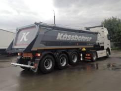 Kassbohrer. Самосвальный полуприцеп V - 22 m3, 32 500кг.