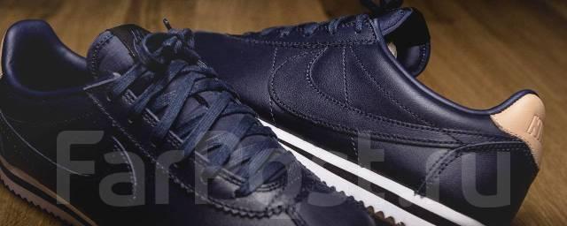 Брендовые Кожаные Кроссовки Nike Cortez Se 834303 401 - Обувь во ... d417949d451