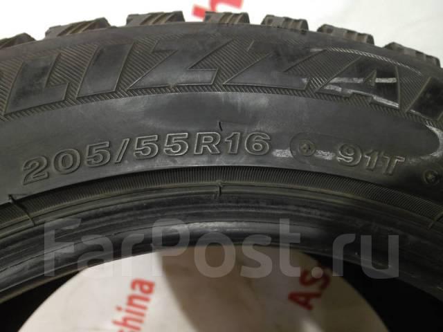 Bridgestone Blizzak Spike-01. Зимние, шипованные, износ: 20%, 1 шт