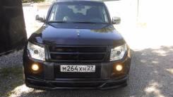 Накладка на бампер. Mitsubishi Pajero, V80, V88W, V93W, V98W, V97W, V83W Двигатели: 6G72, 4M41, 6G75