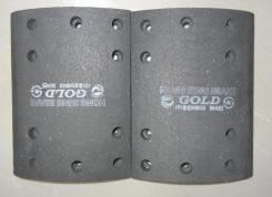 Накладка тормозная KOREA TRAILER HL3 4DNX-C / FR / RR / TRAGO / CARGO / Трал / R1+R2 / H=190*140 mm