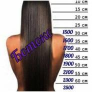 Микрокапсульное наращивание волос, парикмахерские услуги