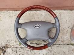 Руль. Toyota: Voxy, Solara, Corolla, Mark II, Supra, Yaris, Porte, Hiace, Vista Ardeo, Estima Lucida, Hilux, Deliboy, Verso, Highlander, Tundra, Corol...