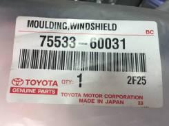 Молдинг лобового стекла. Toyota Land Cruiser, HDJ101, FZJ105, HDJ100, UZJ100, FZJ100, HZJ105 Двигатели: 1HDFTE, 1FZFE, 1HDT, 2UZFE, 1HZ