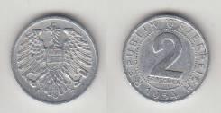 Австрия 2 Грошена 1954-1957 гг. (иностранные монеты)