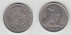 Бельгия 1 Франк 1939 год (иностранные монеты)