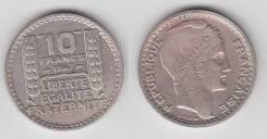 Франция 10 Франков 1947-1948 гг. (иностранные монеты)