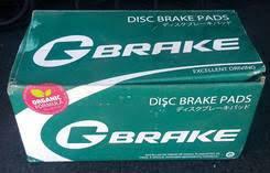 Колодки тормозные G-brake GP02114,,PF1321
