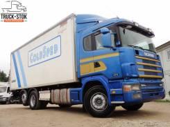 Scania R124. Изотермический грузовик , 11 700 куб. см., 15 120 кг.