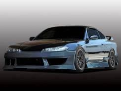 Обвес кузова аэродинамический. Nissan Silvia, S15. Под заказ