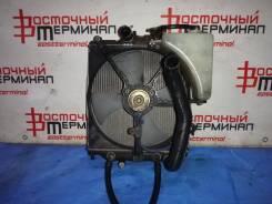 Радиатор охлаждения двигателя. Honda Logo, GA3 Двигатель D13B