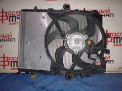 Радиатор охлаждения двигателя. Peugeot 207, WC