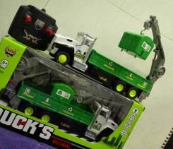 Радиоуправляемые грузовики.