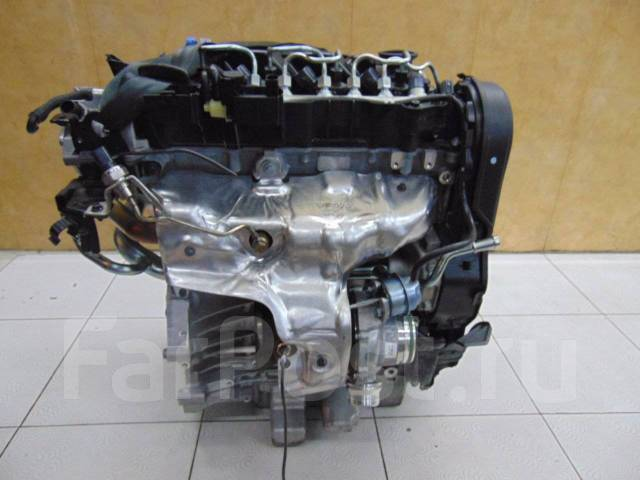 Новый голый двигатель 2.0D D4204T8 на Volvo V40