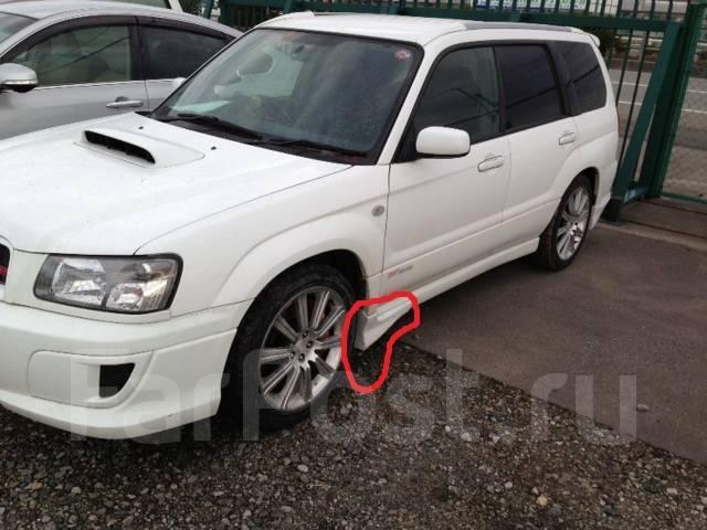 Обвес кузова аэродинамический. Subaru Forester, SG9, SG5, SG9L