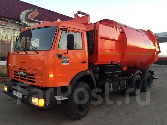 Камаз 65115. (мусоровоз), 11 760 куб. см.