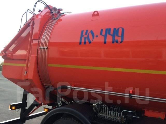 КамАЗ 65115. Камаз 65115(мусоровоз), 11 760куб. см.