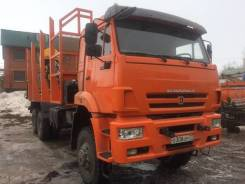 Камаз 6522. (Лесовоз-сортиментовоз), 11 760 куб. см., 20 000 кг.