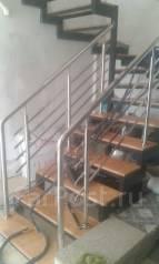 Лестницы из нержавейкии