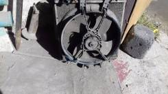 Радиатор охлаждения двигателя. Honda Civic