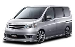Бампер. Nissan Serena, CNC25, NC25, C25, CC25