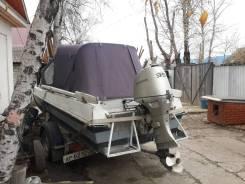 Казанка-5М2. Год: 1986 год, длина 4,60м., двигатель подвесной, 50,00л.с., бензин