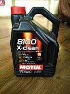 Motul 8100 X-Clean. Вязкость 5W-40, полусинтетическое