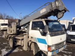 Mitsubishi Canter. Продается атобуровая, Бурильно-крановая машина, ямобур MMC Canter, 4 198 куб. см., 3 000 кг.