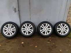 Комплект колес на 17 Subaru с резиной. 7.0x17 5x100.00 ET48