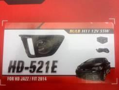 Фара противотуманная. Honda Fit, GK4, GK3, GK6, GK5