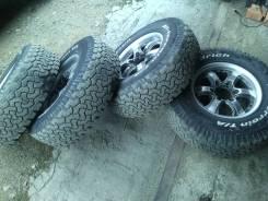 Комплект колес 30/15/9,5 BFGoodrich/Wrangler T/A. 7.0x15 6x139.70 ET25 ЦО 110,0мм.
