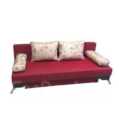 прямой диван механизм еврокнижка лайт 2 мебель во владивостоке