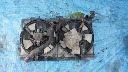 Радиатор охлаждения двигателя. Nissan: Wingroad, Sunny California, Presea, Pulsar, AD Двигатели: GA15DS, GA13DS, GA16DE