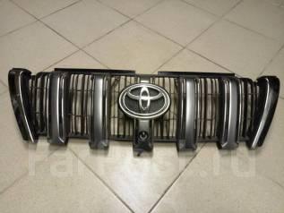 Решетка радиатора. Toyota Land Cruiser Prado, GDJ150L, GDJ150W, GDJ151W, GRJ150L, GRJ150W, GRJ151W, KDJ150L, TRJ12, TRJ150W Двигатели: 1GDFTV, 1GRFE...