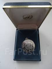 ООН памятная медаль мира 1977 год. Серебро 925 пробы. Футляр.
