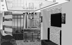 Дизайн-проект помещениий