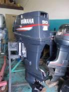 Yamaha. 90,00л.с., 2-тактный, бензиновый, нога L (508 мм), Год: 2002 год