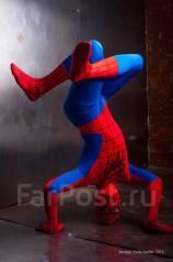 2 человека паука - акробатический номер, аниматор, герой, персонаж, актер