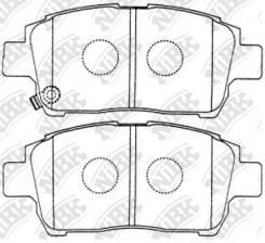 Колодки тормозные дисковые PN1472 [ящик 10 шт] PN1472 PN1472