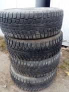 Michelin X-Ice North. Зимние, шипованные, 2014 год, износ: 10%, 4 шт