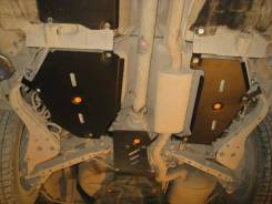 Защита топливного бака. Nissan Qashqai, J10, J10E Nissan X-Trail, T31, DNT31, TNT31, NT31, T31R
