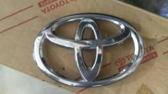 Эмблема решетки. Toyota Land Cruiser Prado, GRJ151, TRJ150, GRJ150 Двигатели: 2TRFE, 1GRFE