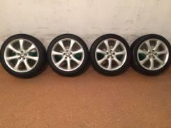 Продам комплект колес Toyota на 17 с зимней резиной. 7.0x17 5x100.00 ET48 ЦО 73,0мм.