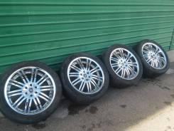 Комплект жирных колес на американца R22, лето. 9.5x22 6x135.00 ET30