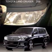 Накладка на фару. Toyota Land Cruiser, HDJ100, HZJ105L, HDJ100L, GRJ200, FZJ105, HDJ101K, URJ200, HDJ101, HZJ105, FZJ100, UZJ100, UZJ100W, UZJ100L, J1...