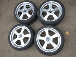 Комплект колёс Bvillens 225/40R18 Лето R18. 8.0x18 4x100.00, 5x100.00, 4x114.30, 5x114.30, 5x120.00 ET42
