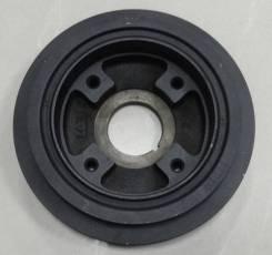 Шкив коленвала J3 / BONGO / 231244X010 / 231244X100 / с 4 креплениями для реф установки